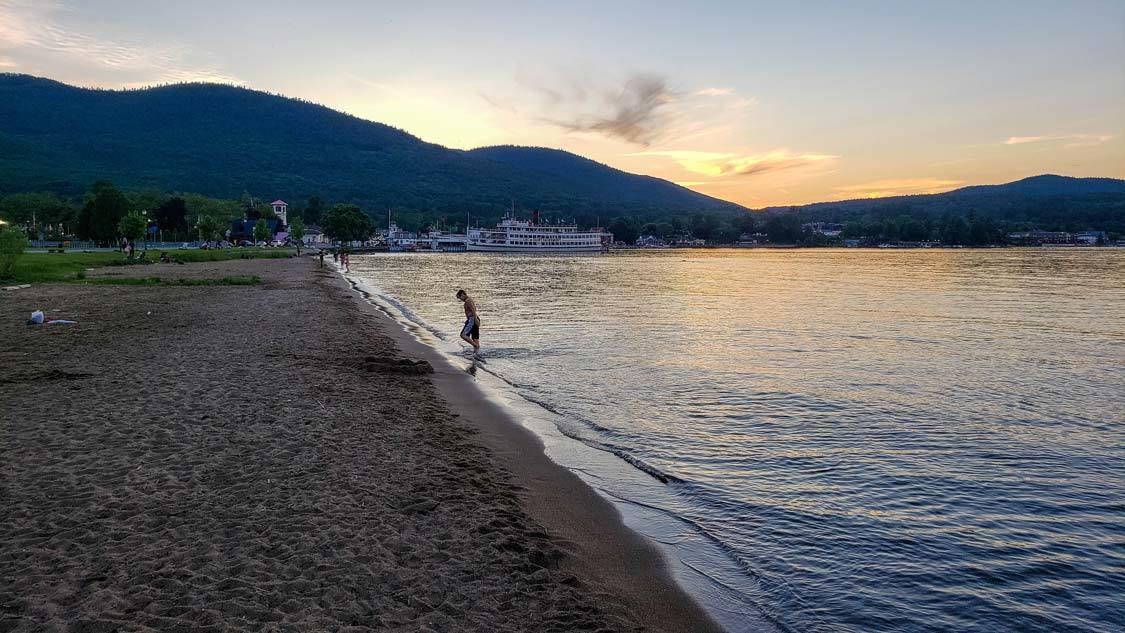 The best Lake George Beach