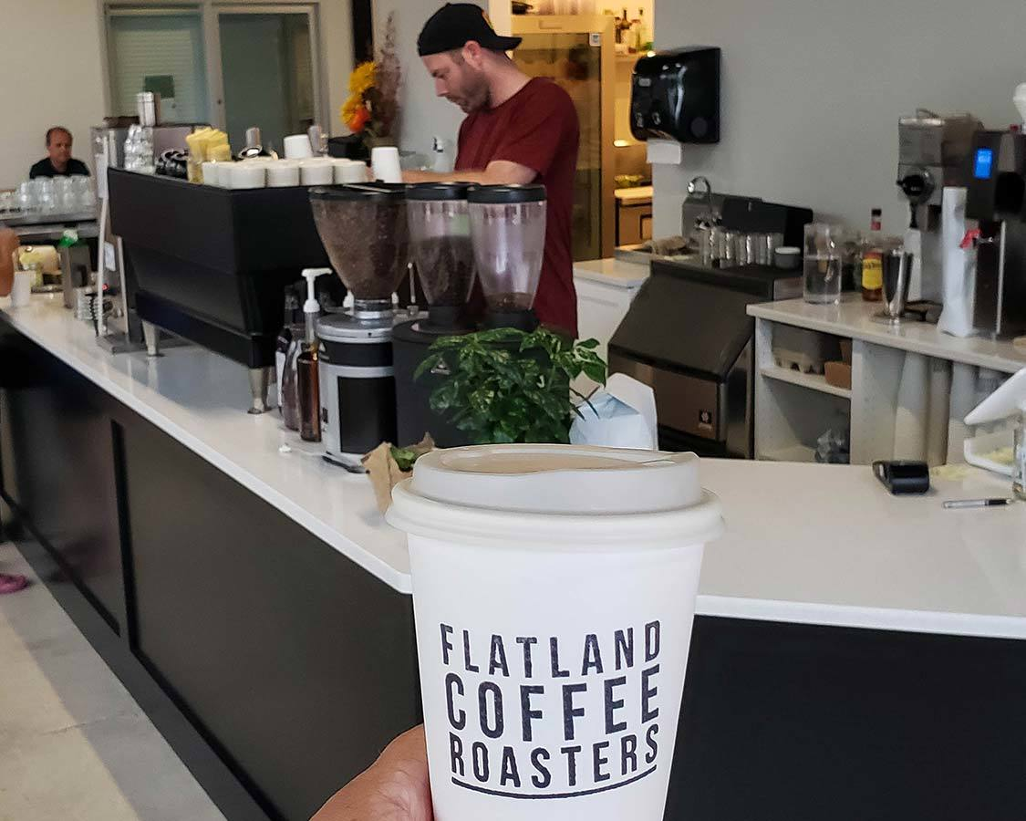 Flatland Coffee Roasters Gimli Things to do