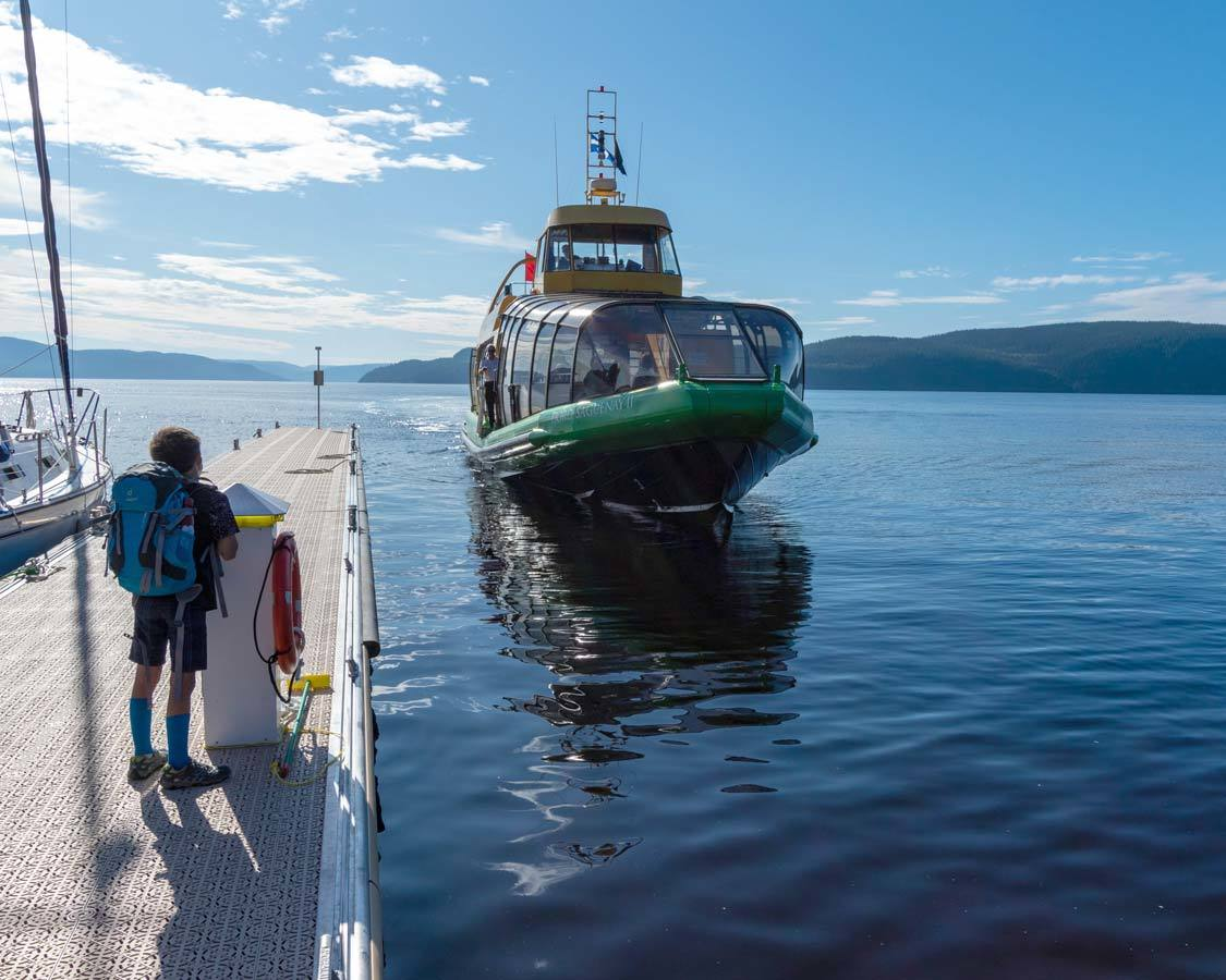 Navette du Fjord Saguenay-Lac-St-Jean Quebec