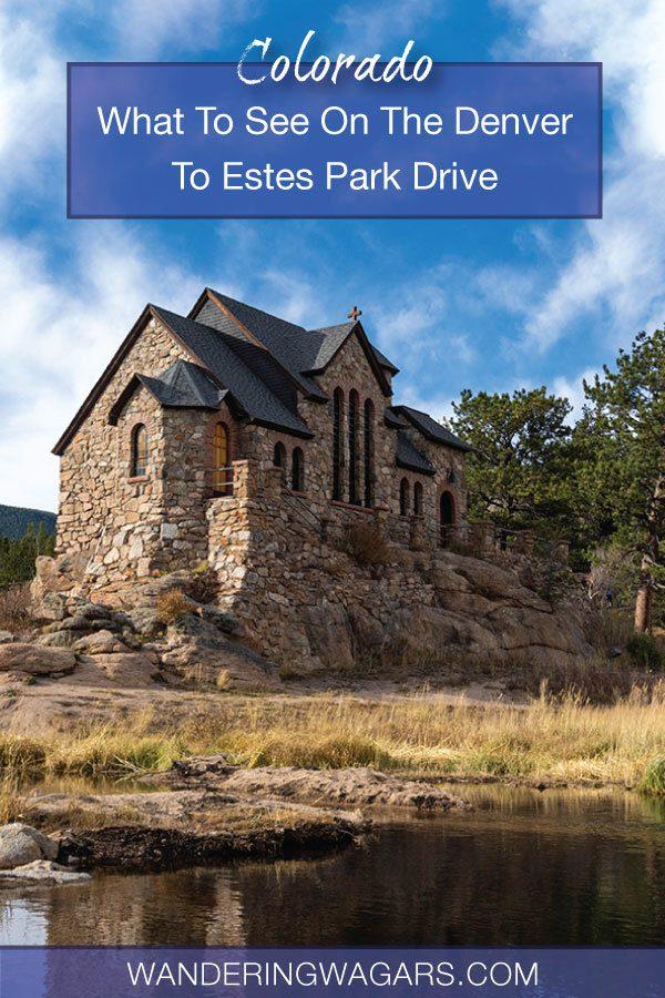 Denver to Estes Park drive