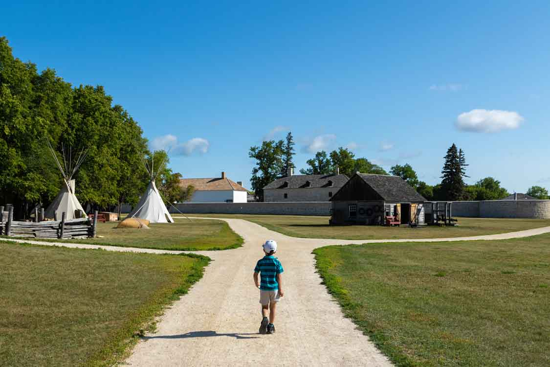 Manitoba things to do Lower Fort Garry