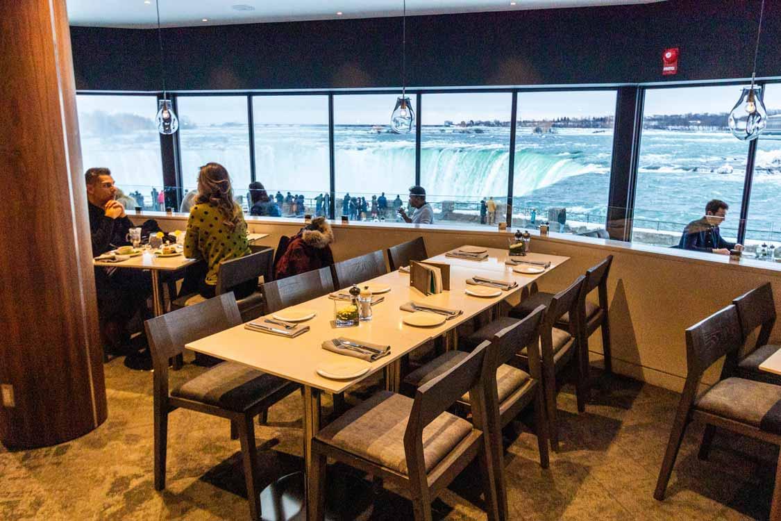 Table Rock House Restaurant Niagara Falls January