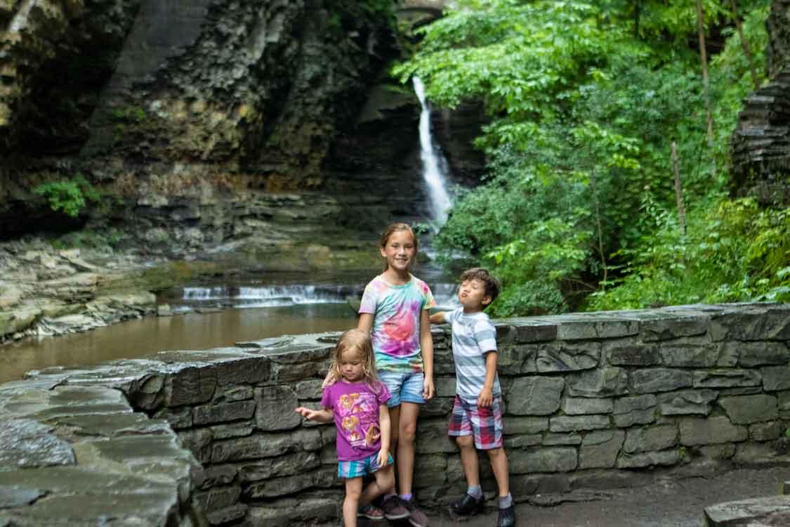 Wandering Wagars in Watkins Glen State Park