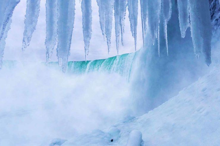 Winter In Niagara Falls Journey Behind The Falls