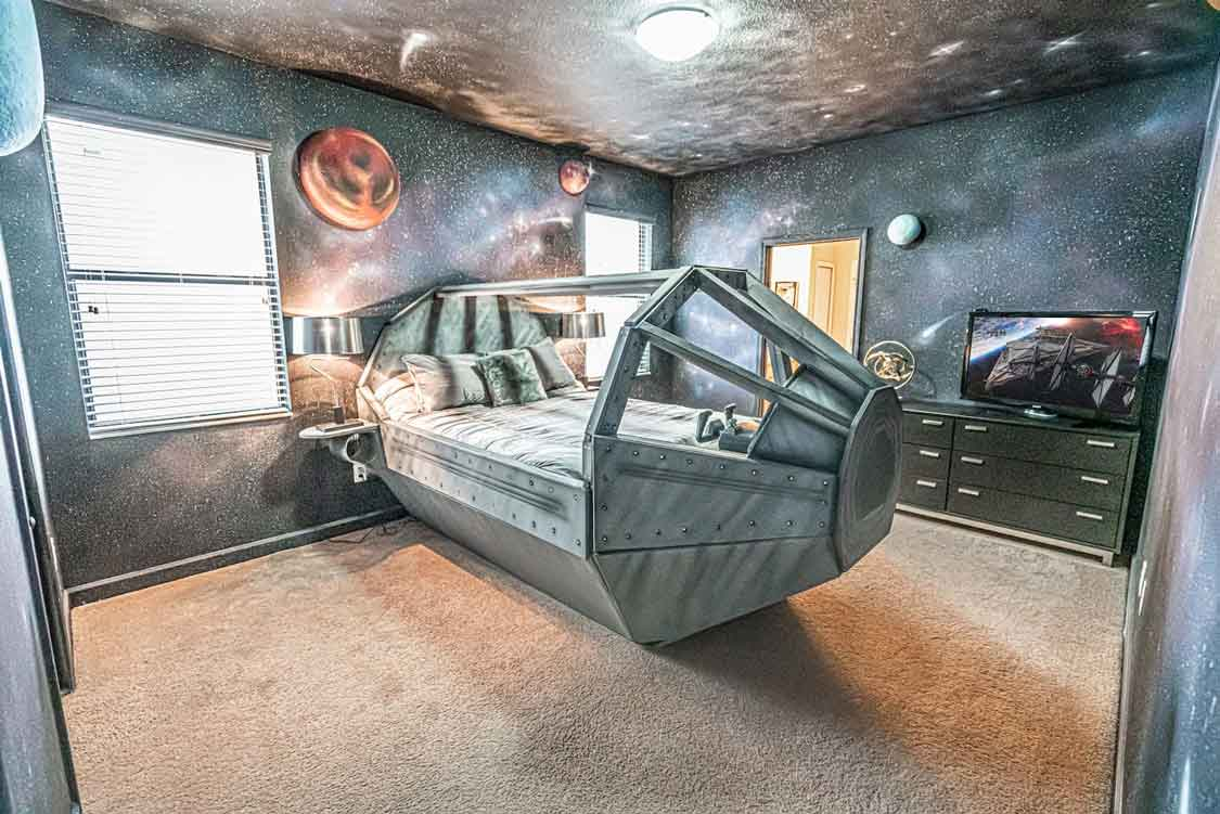 This Star Wars-Themed Airbnb in Florida Will Complete Your Galaxy Edge Experience - Adventure Family Travel - Wandering Wagars