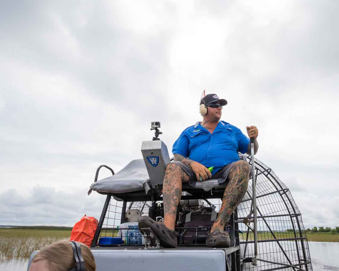Orlando Airboat Rides in the Everglades