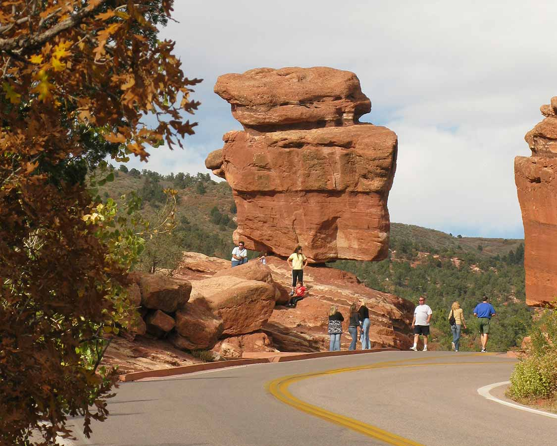Balanced Rock Garden of the Gods