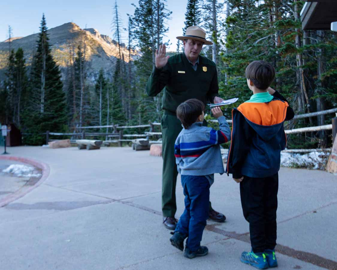 Rocky Mountain National Park Junior Ranger Program
