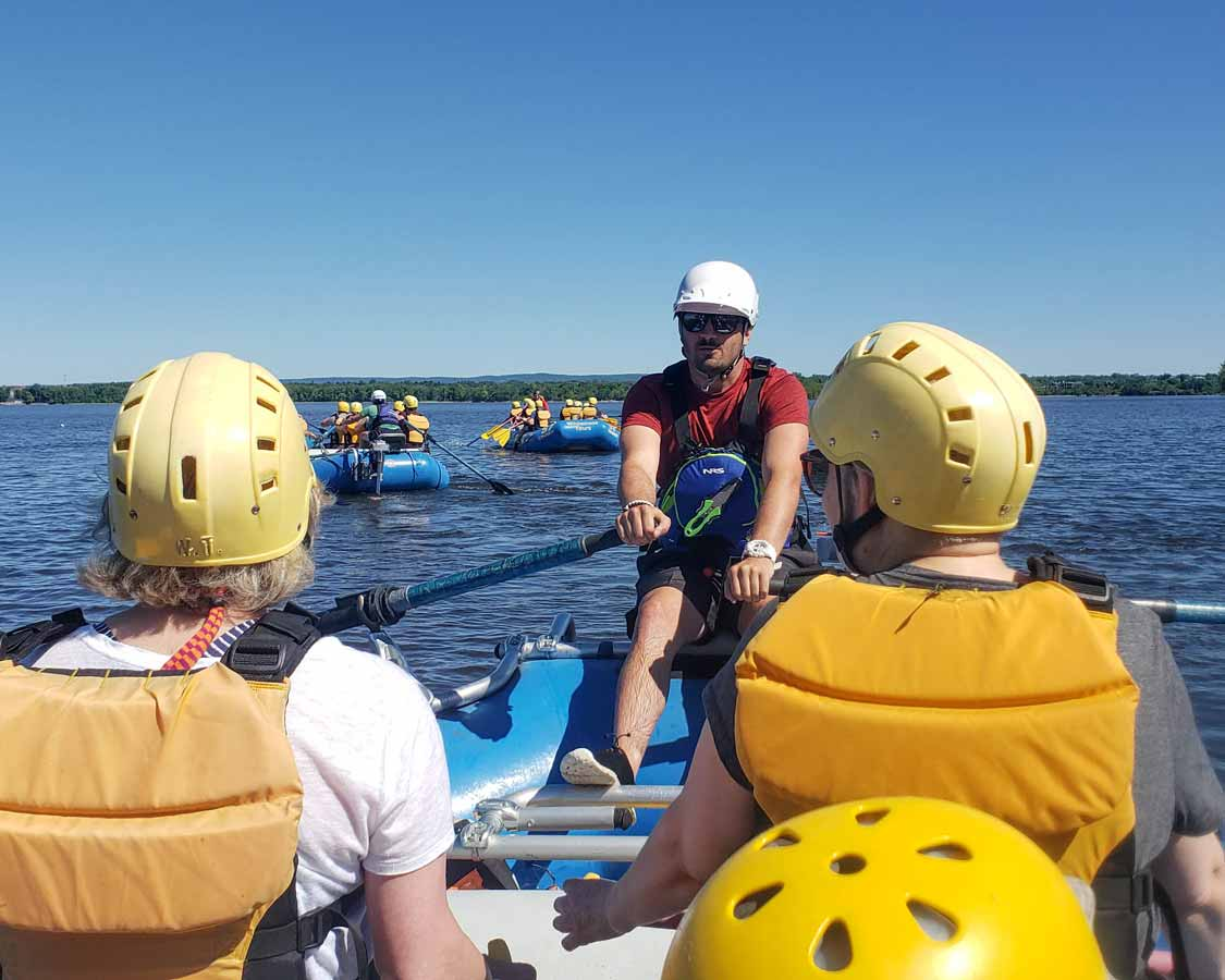 Guided Rafting on the Ottawa River