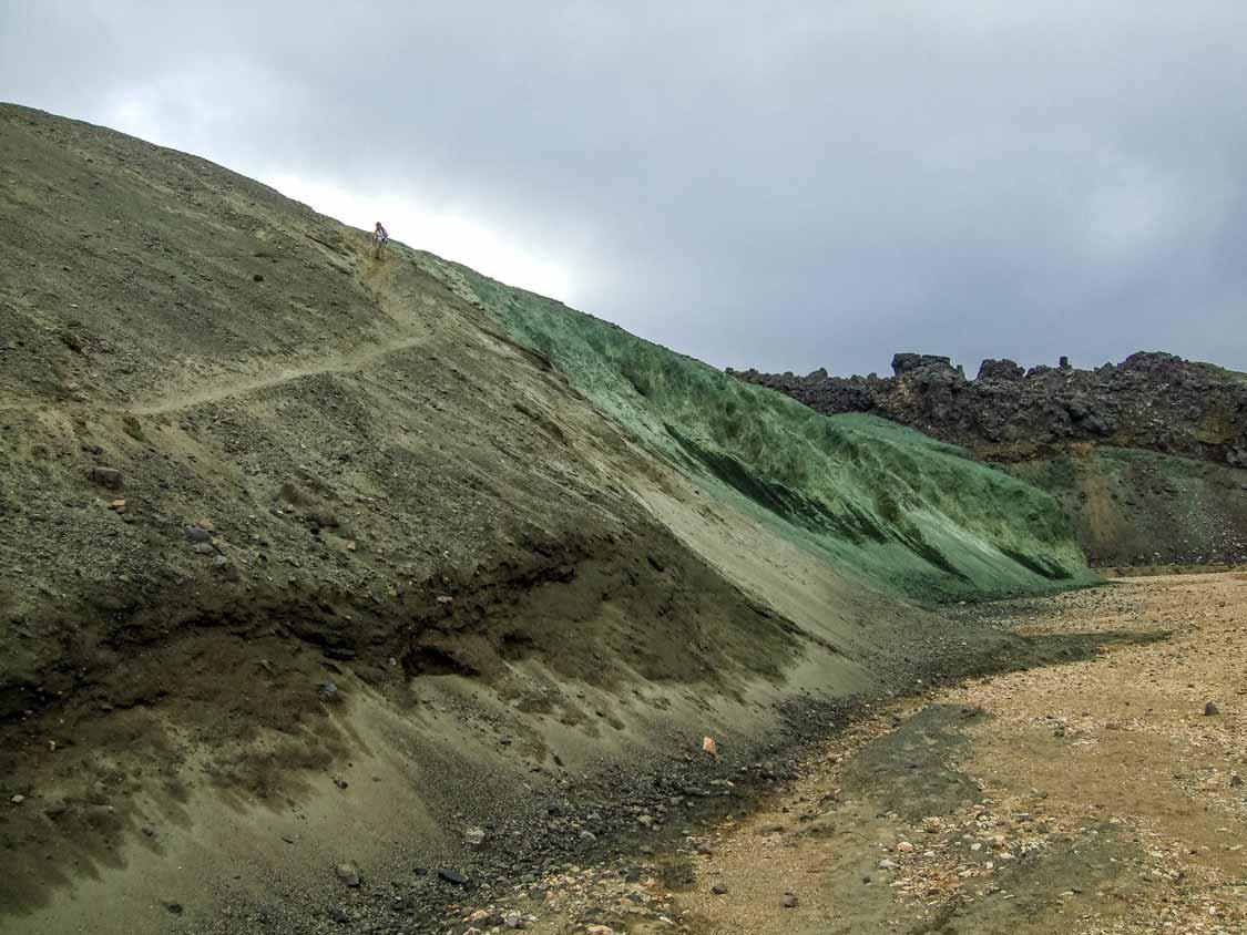 Hiking In Landmannalaugar Iceland