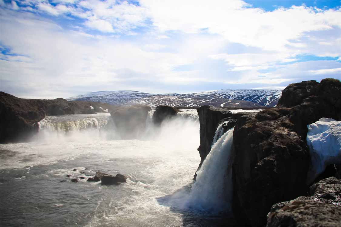 Iceland's best waterfalls Godafoss