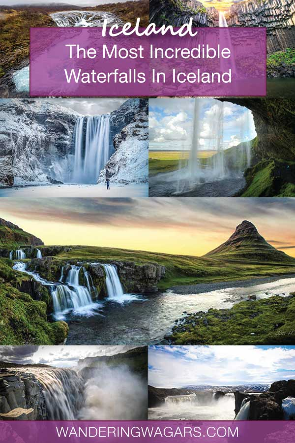 Incredible Waterfalls In Iceland