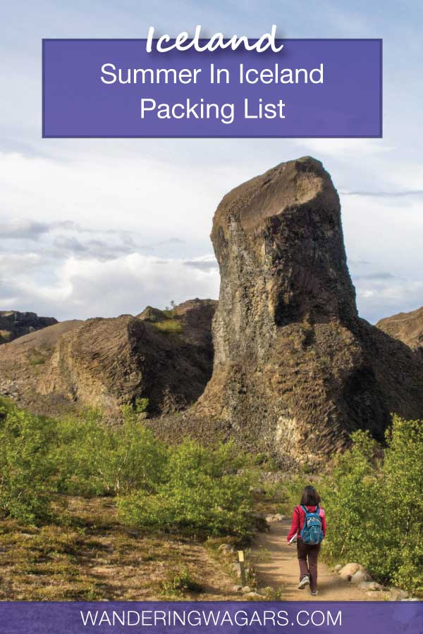 Summer In Iceland Packing List