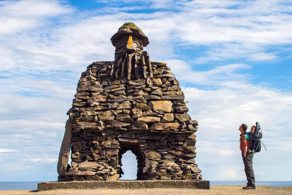 The Bardur of Snaefellsnes In Arnarpstapi Iceland