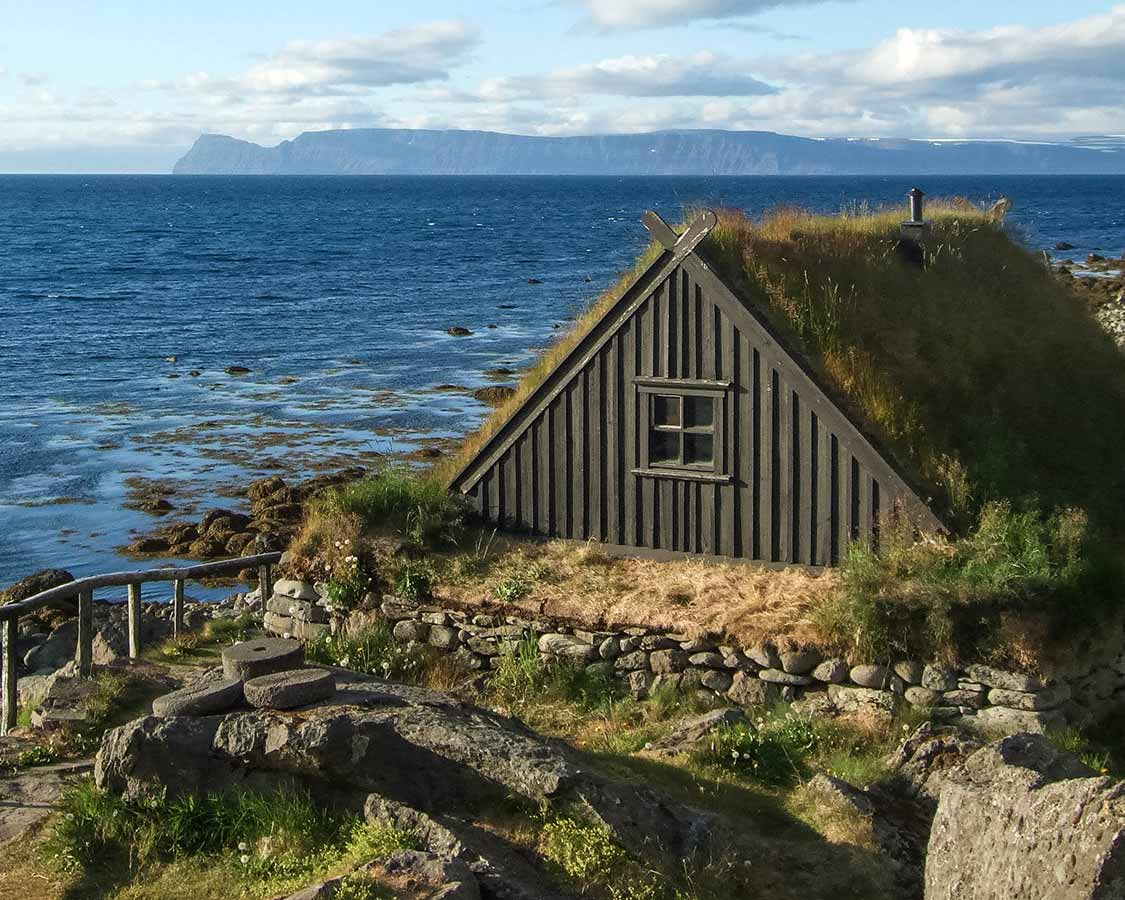 Viking House In East Iceland