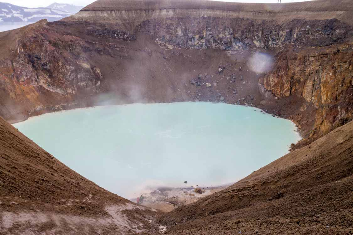 Viti Crater In the Askja Caldera Iceland