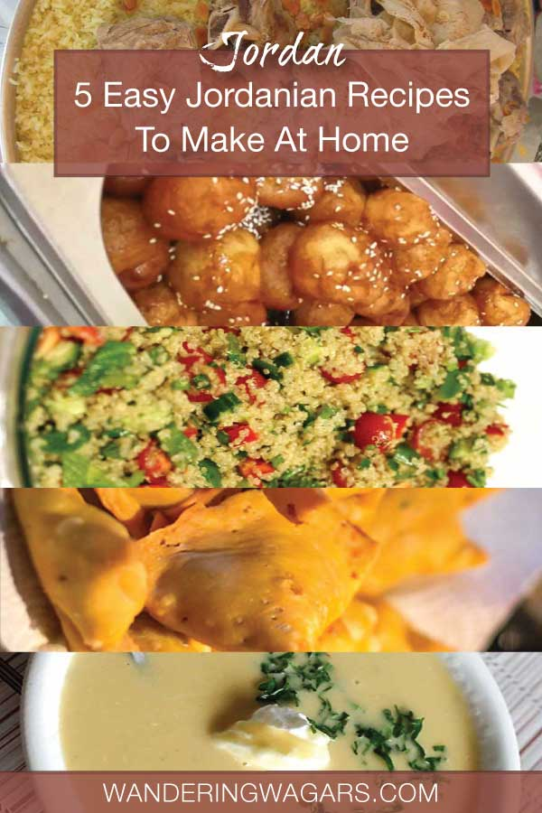 5 Easy Jordanian Recipes to make at home
