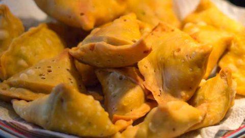 Easy cheese-samosa recipe