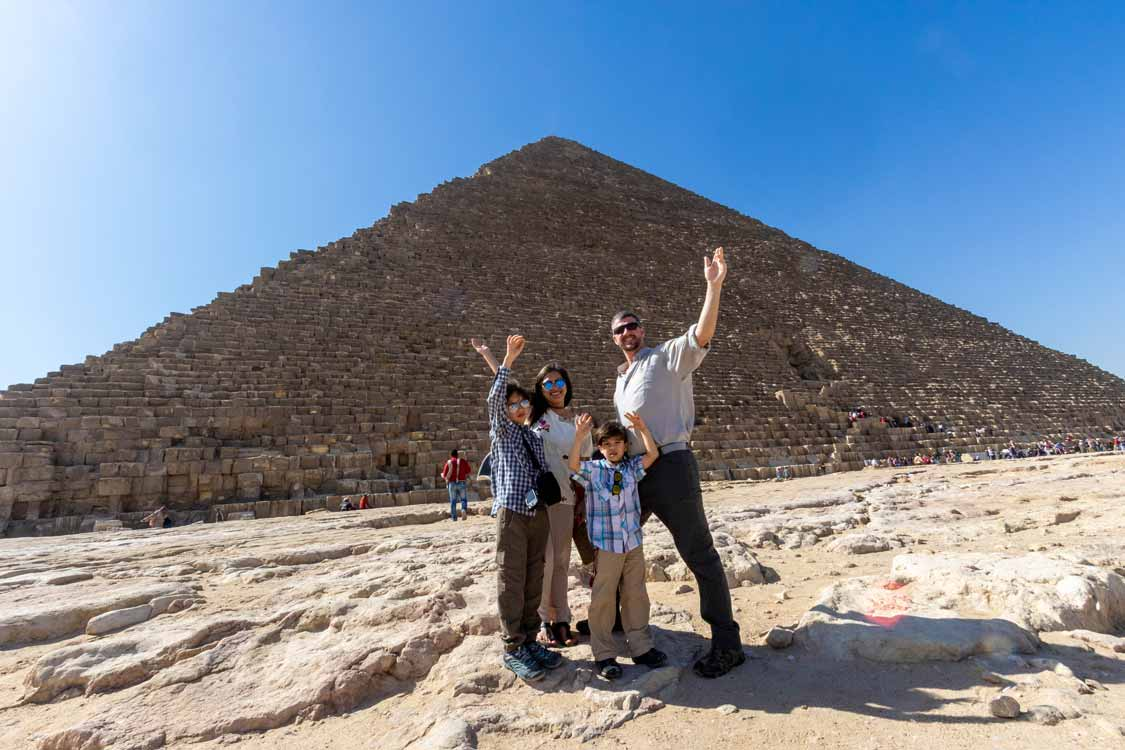 How To Visit The Pyramids of Giza with kids