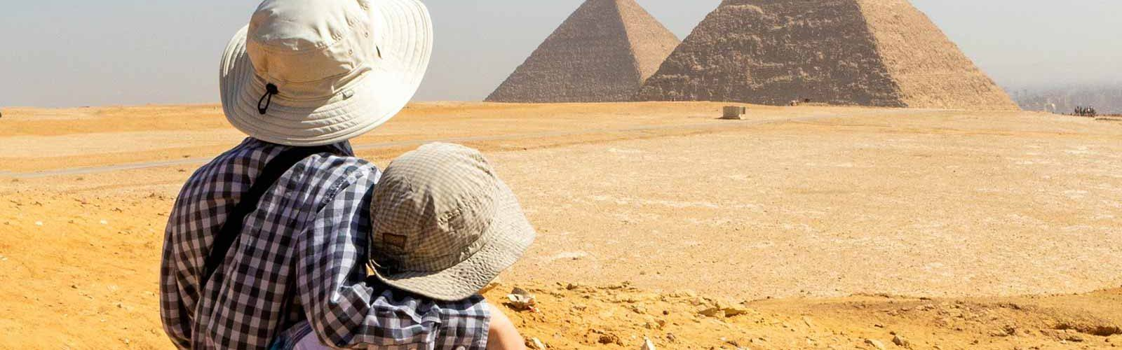 Pyramids of Giza with Kids