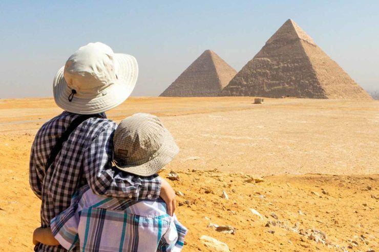 Pyramids of Giza with Kids