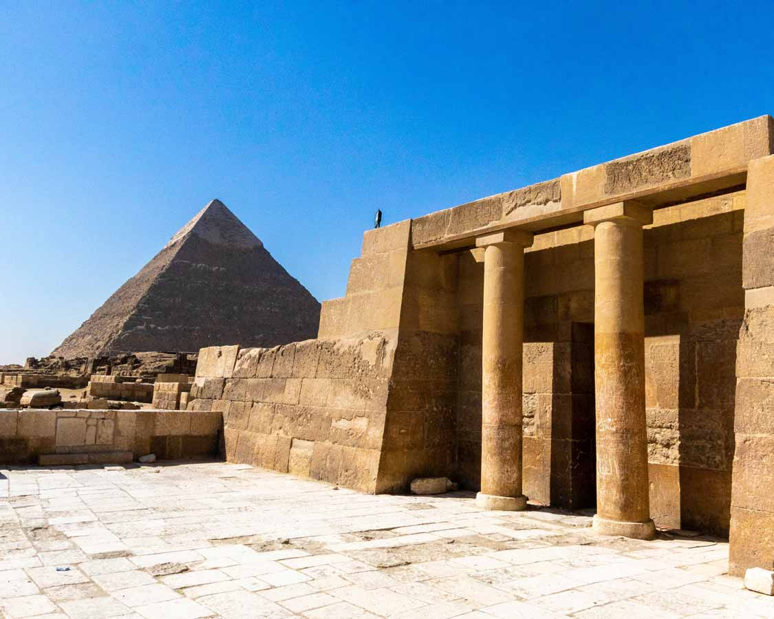 Temples and Pyramids of Giza for families