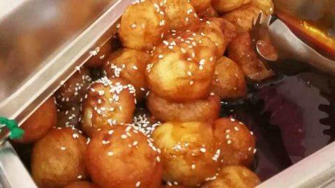 luqaimat recipe crunchy honey dumpilngs