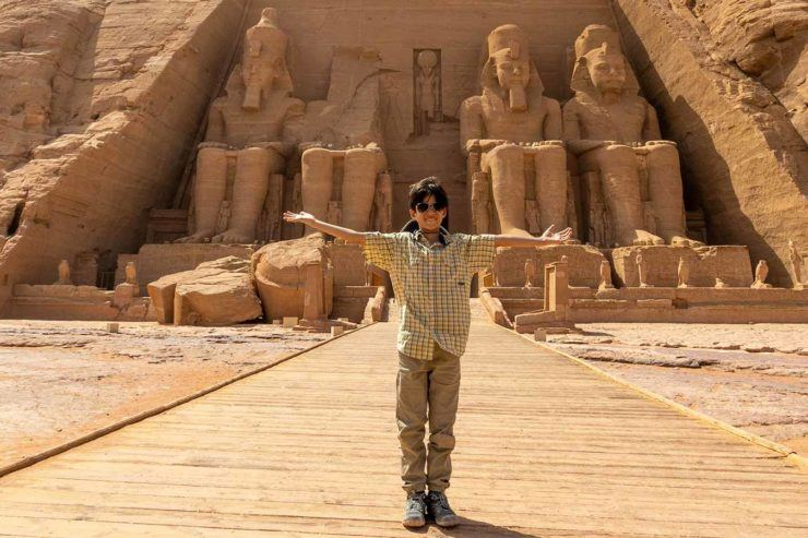 Abu Simbel with Kids