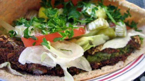 Easy Egyptian Falafel taameya recipe