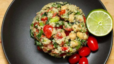 Easy Peruvian Quinoa Salad-recipe