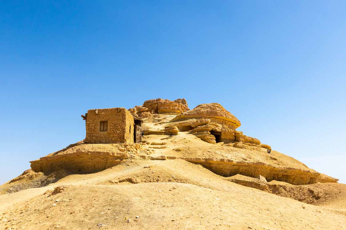 Places to visit in Siwa Oasis Mountain of the Dead