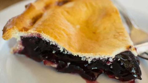 Indigenous Style Blueberry Pie Recipe
