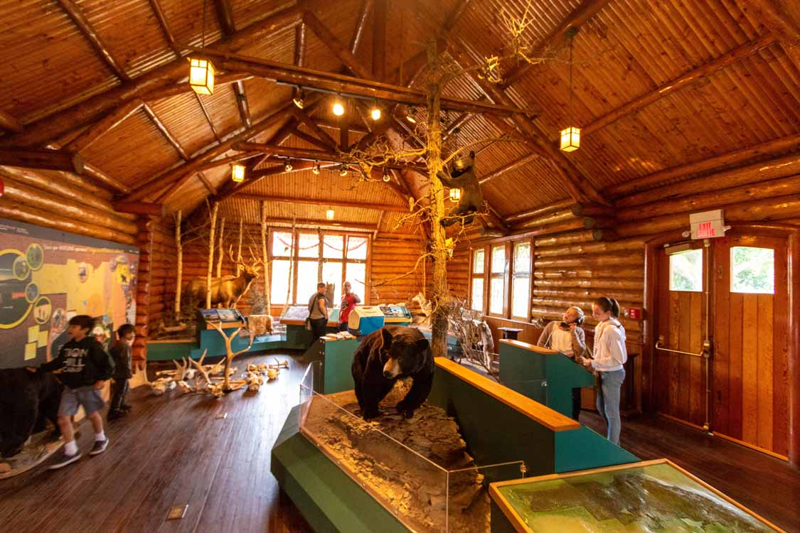 Riding Mountain National Park Visitors Centre in Wasagaming