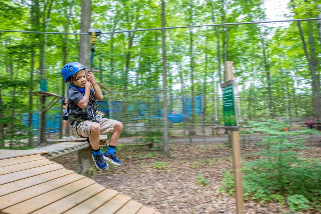 Treetop Trekking Discovery Course in Stouffville