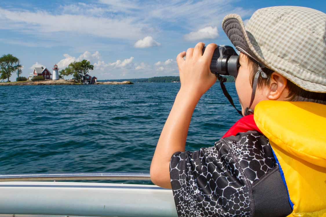 Visiting Thousand Islands With Kids