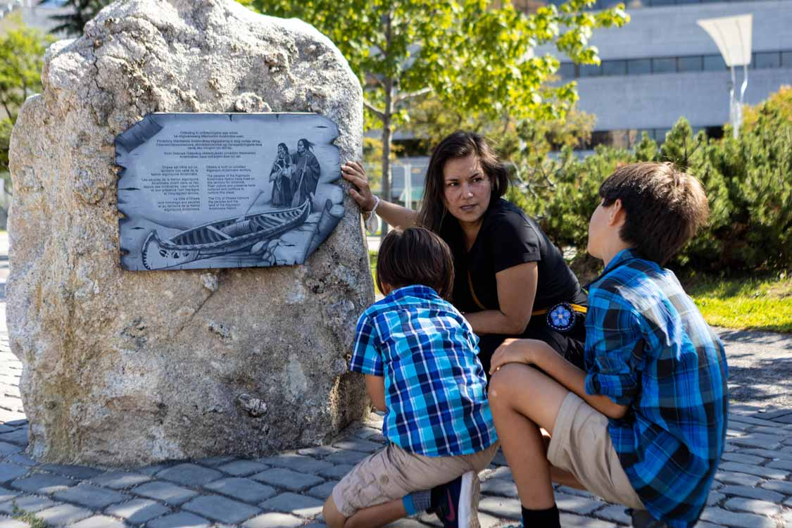 Indigenous Walks Art Tour In Ottawa Ontario