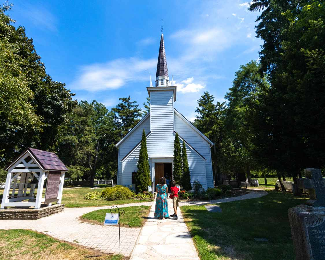 Six Nations Mohawk Chapel in Brantford Ontario