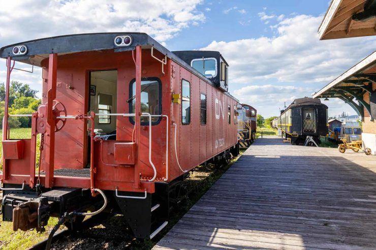 Smith Falls Train Museum