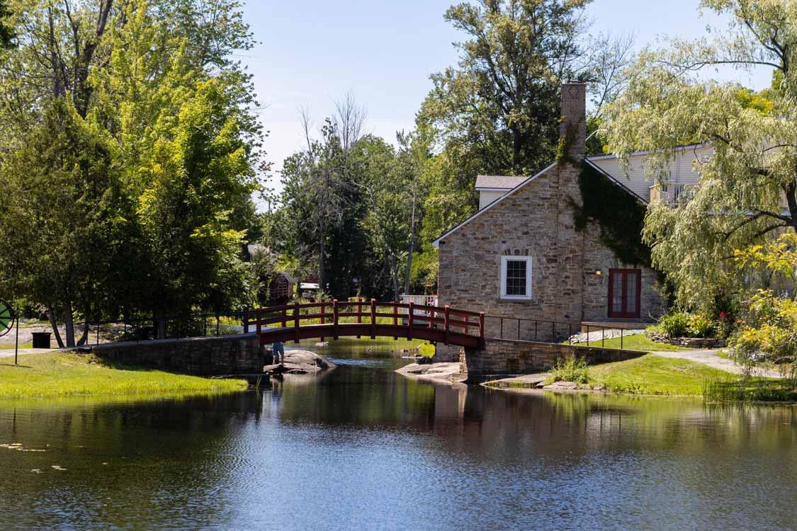 Stewart Park in Perth Ontario