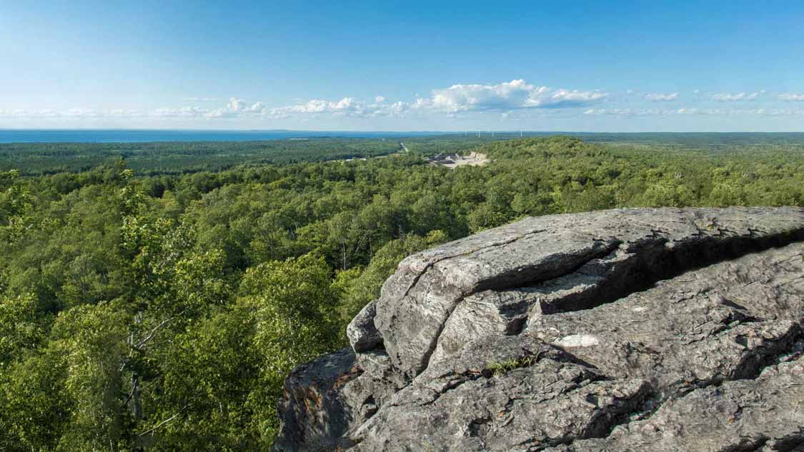 Cup and Saucer Trail on Manitoulin Island