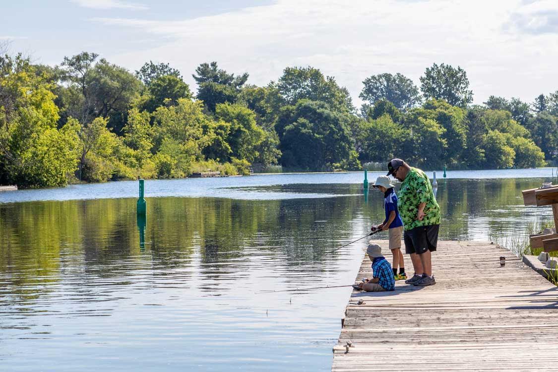Learning to Fish with Peter Larmand Outdoors in Smiths Falls