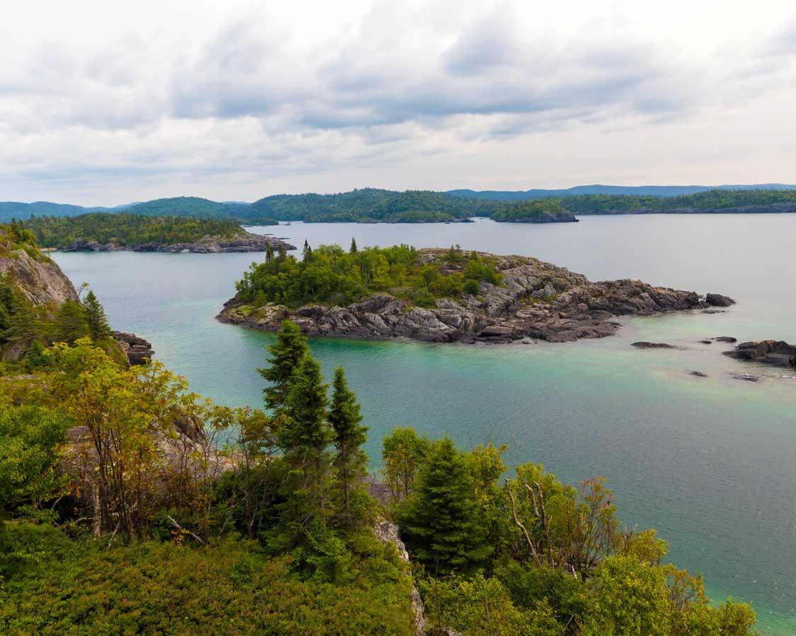 Lake Superior From Pukaskwa National Park