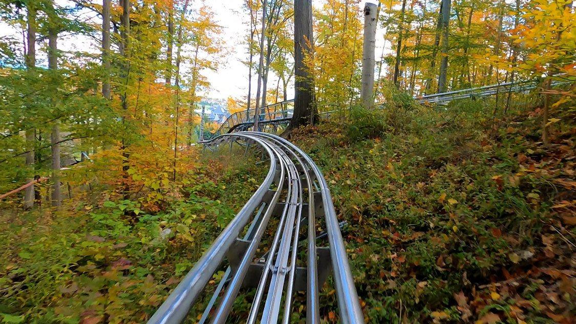 Ridge Runner Mountain Coaster at Blue Mountain
