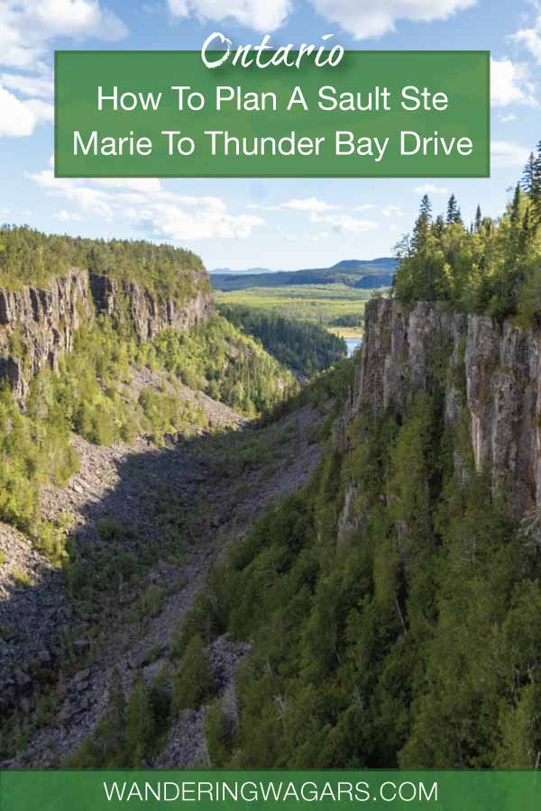 Northern Ontario Road Trip Planner