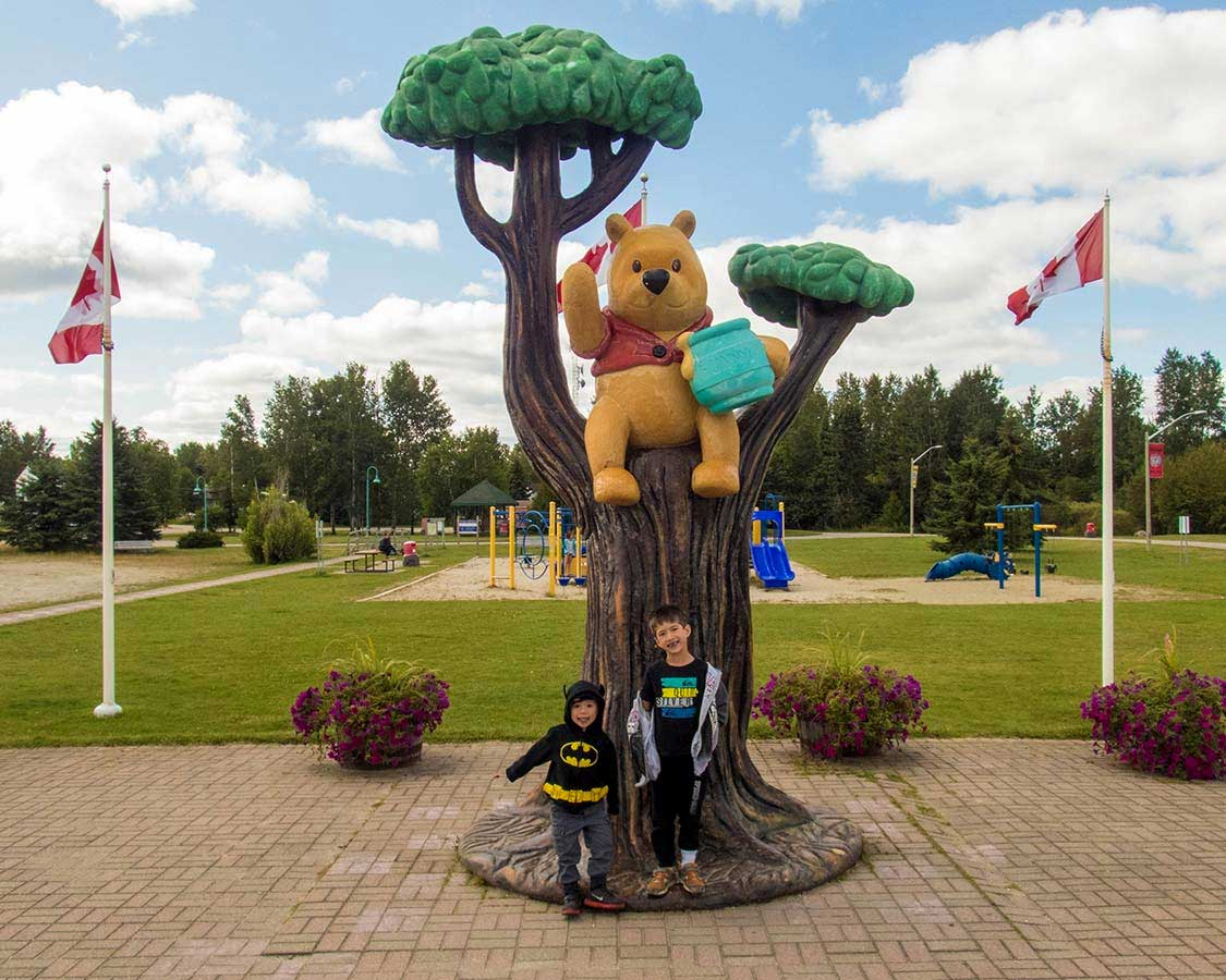 Winnie The Pooh Memorial In White River Ontario