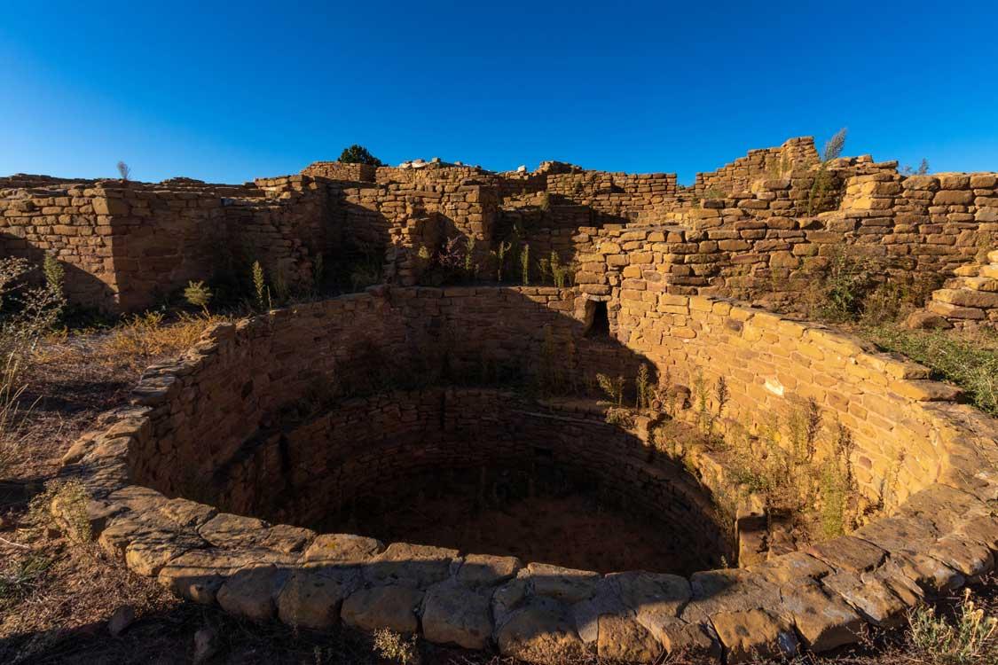 Far View Water Reservoir in Mesa Verde NP