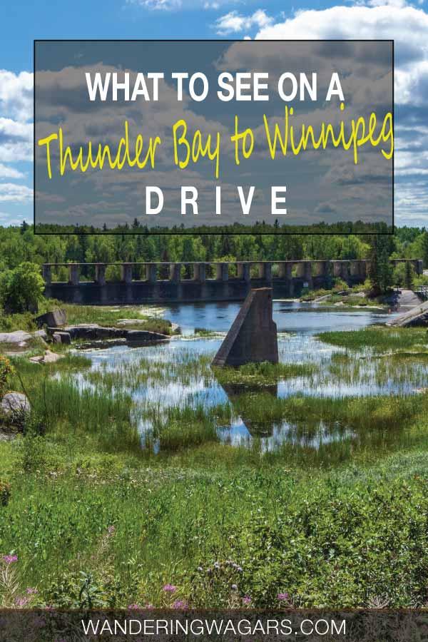 Winnipeg to Thunder Bay Drive